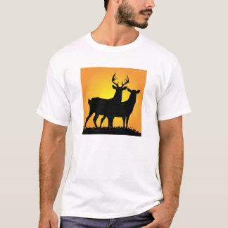 Mâle et daine t-shirt