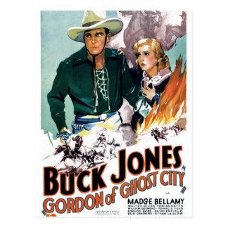 Mâle Jones - Gordon de ville de fantôme Carte Postale