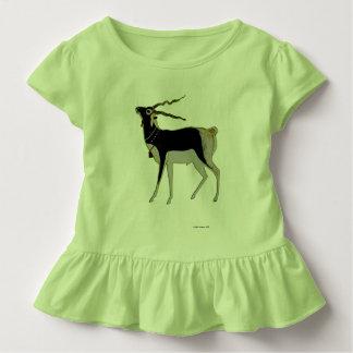 Mâle noir t-shirt pour les tous petits