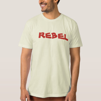Mâle rebelle de rouge de lion t-shirts