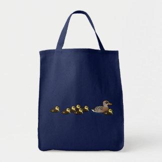 Mallard et sept canetons sac
