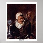 Malle Babbe par Hals Frans Affiches