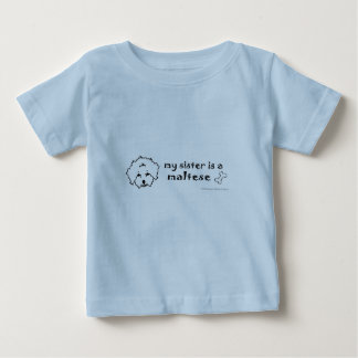 maltais t-shirt pour bébé