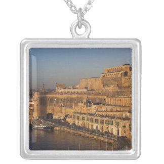 Malte, La Valette, vue de port de Barrakka Pendentif Carré
