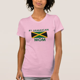 Maman #1 jamaïcaine t-shirt