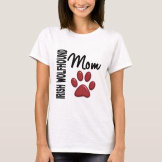 Maman 2 de chien-loup irlandais t-shirt
