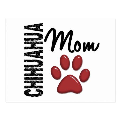 Maman 2 de chiwawa cartes postales