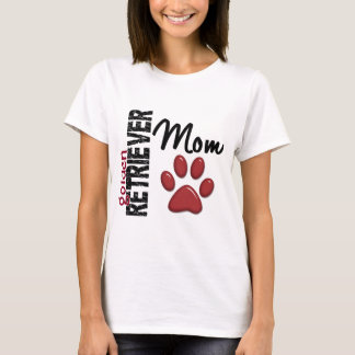 Maman 2 de golden retriever t-shirt