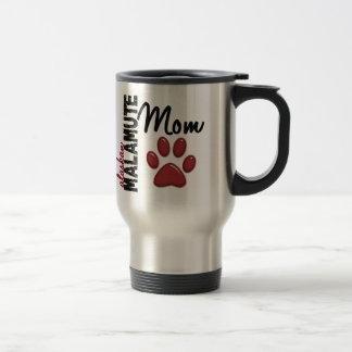 Maman 2 de Malamute d'Alaska Mug De Voyage