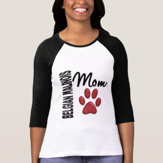 Maman 2 de Malinois de Belge T-shirts
