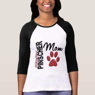 Maman 2 de Pinscher miniature T-shirts