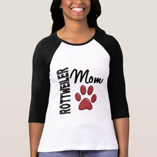 Maman 2 de rottweiler t-shirts
