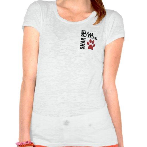 Maman 2 de Shar Pei T-shirt