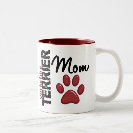 Maman 2 de Yorkshire Terrier Tasse À Café