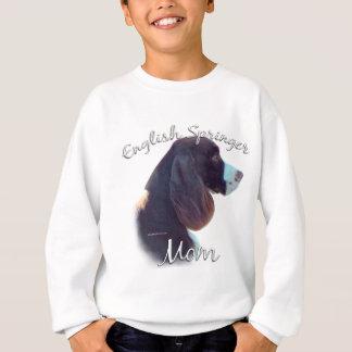 Maman 2 d'épagneul de springer anglais sweatshirt