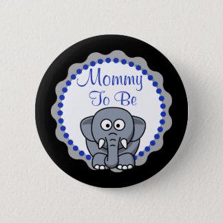 Maman à être bouton mignon de baby shower badge