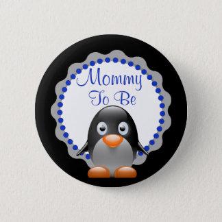 Maman à être bouton mignon de baby shower de badge