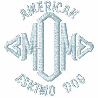 Maman américaine de chien esquimau
