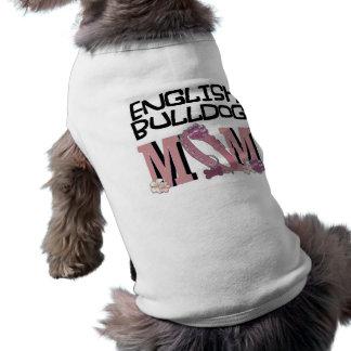 MAMAN anglaise de bouledogue T-shirt Pour Chien