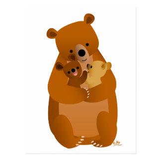 Maman Bear (aucun arrière - plan) Cartes Postales