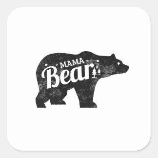 Maman Bear Sticker Decal