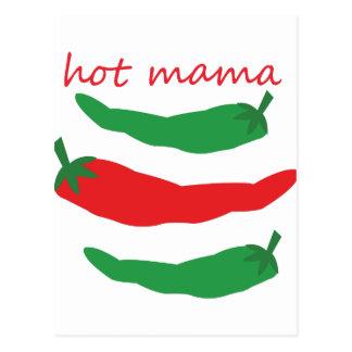 Maman chaude cartes postales