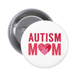 Maman d'autisme badge