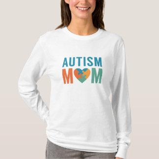 Maman d'autisme t-shirt