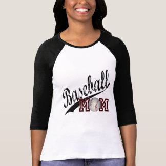 Maman de base-ball t-shirt