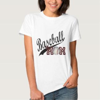 Maman de base-ball t-shirts