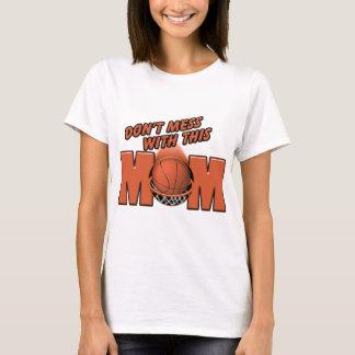 Maman de basket-ball t-shirt