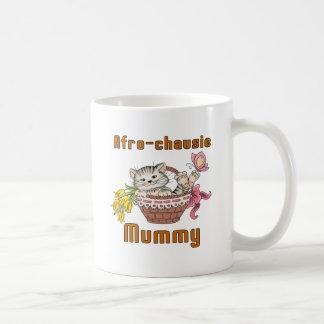 Maman de chat d'afro-chausie mug