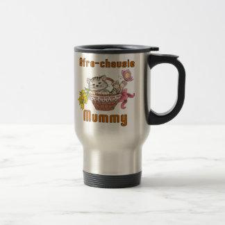 Maman de chat d'afro-chausie mug de voyage