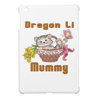 Maman de chat de Li de dragon Étui iPad Mini