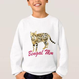 Maman de chat du Bengale Sweatshirt