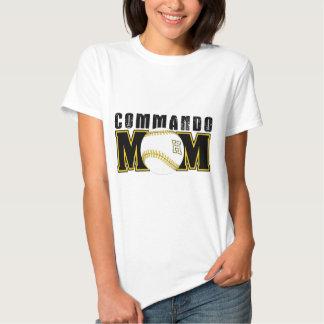 Maman de commando - base-ball t-shirts