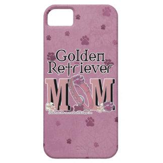 MAMAN de golden retriever Coques iPhone 5