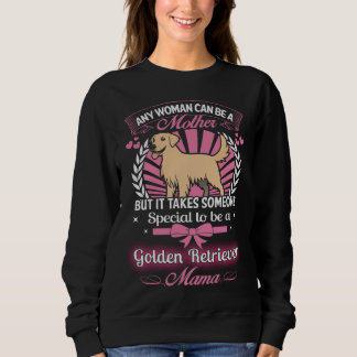 Maman de golden retriever sweatshirt