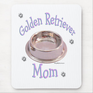 Maman de golden retriever tapis de souris