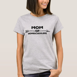 Maman de Homeschoolers T-shirt