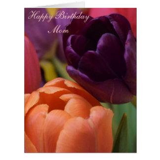 Maman de joyeux anniversaire cartes de vœux