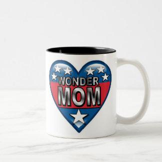 Maman de merveille tasse 2 couleurs