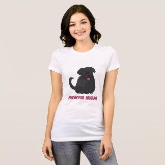 Maman de Newfie T-shirt