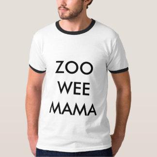 Maman de peu de zoo t-shirt