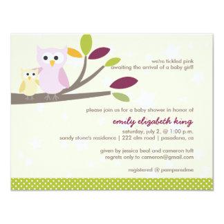 Maman de PixDezines+bébé pour un baby shower Carton D'invitation 10,79 Cm X 13,97 Cm