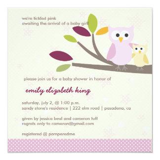 Maman de PixDezines+bébé pour un baby shower Carton D'invitation 13,33 Cm
