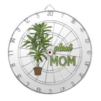 Maman de plante jeu de fléchettes