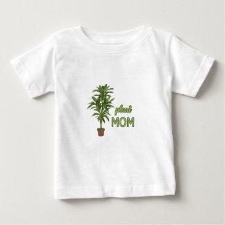 Maman de plante t-shirt pour bébé