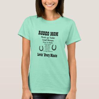 Maman de rodéo t-shirt