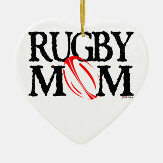Maman de rugby - ornement